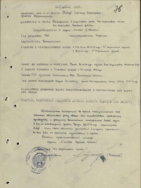 Козуб Иосиф Макарович