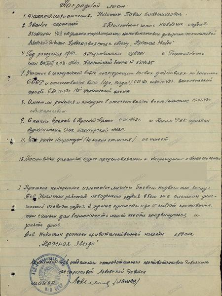 Никитин Павел Владимирович