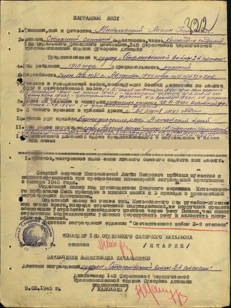 Митьковский Логин Петрович