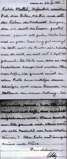 Письмо Отто Франка