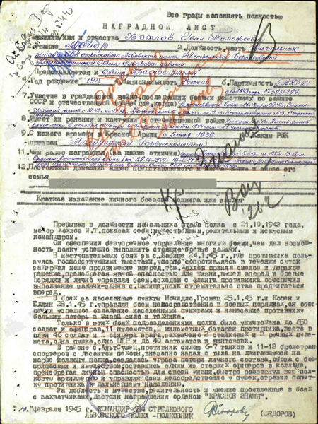 Хохлов Иван Тимофеевич
