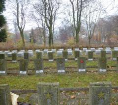 Кладбище в Глинице