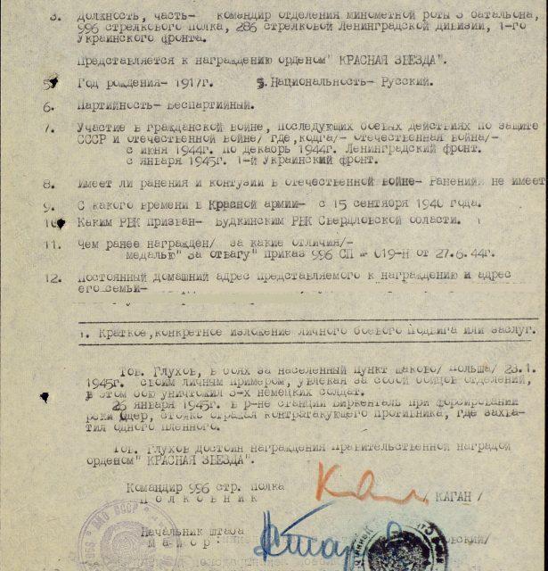 Глухов Степан Родионович